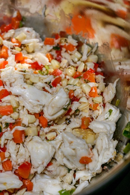Crab and Vegetable Mixture