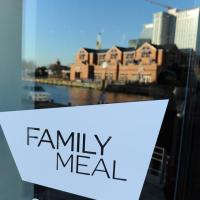 Family Meal Is An Alternative To The Many Chain Restaurants in The Inner Harbor