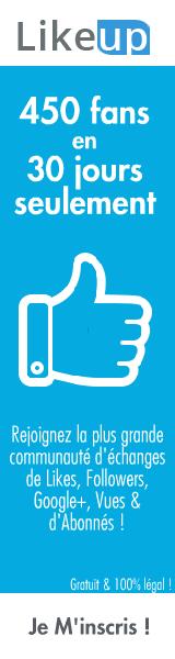 Likeup.fr - Plus de Likes, Followers, Google+, Vues et d'Abonnés