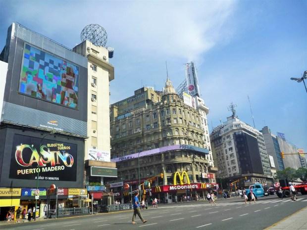 amor por Buenos Aires - Avenida 9 de julho