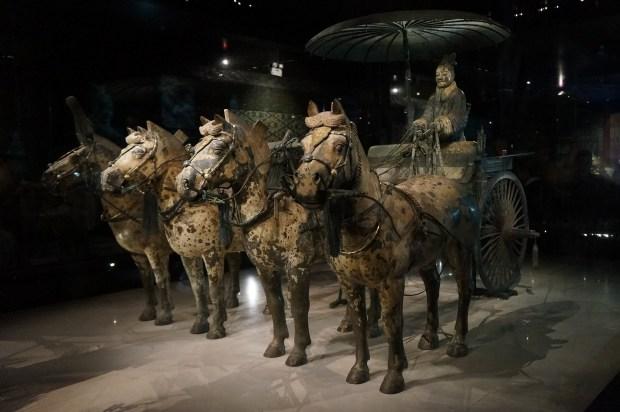 Cavalos e Guerreiros de Terracota