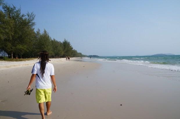 Ochheuteal Beach - melhores praias de Sihanoukville