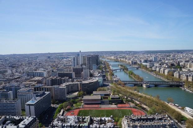 Vista de cima da Torre