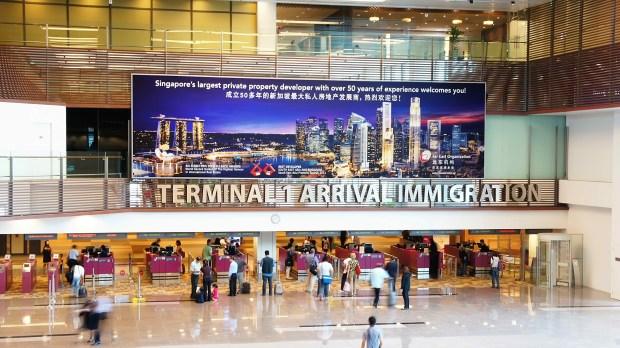 Visitar Cingapura - Imigração de Cingapura (foto de AD-Library Singapore)