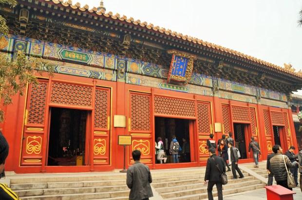 Um dos templos dentro do Templo Lama