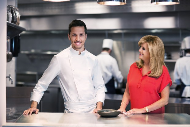Joy Mangano e Chef Franco Sampogna