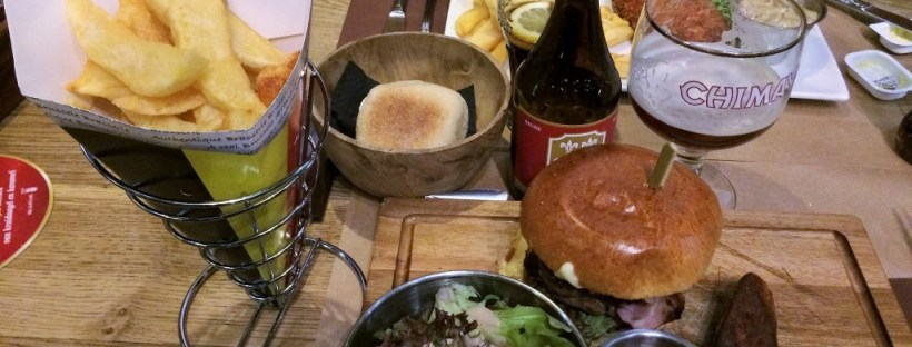 Onde comer em Bruxelas - hambúrguer