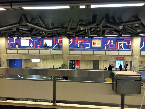 como se locomover em Bruxelas - estação de metro