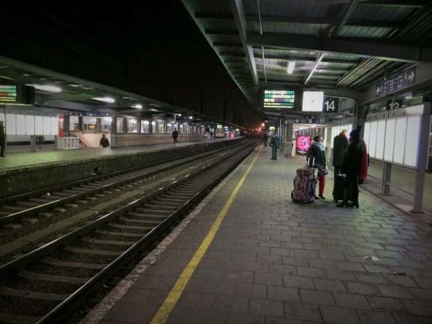 como se locomover em Bruxelas - estação midi