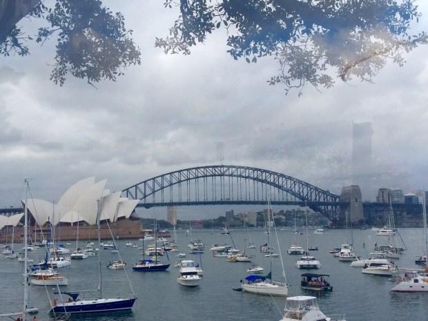 Onde não passar o Ano Novo em Sydney: vista em Macquaries Chair