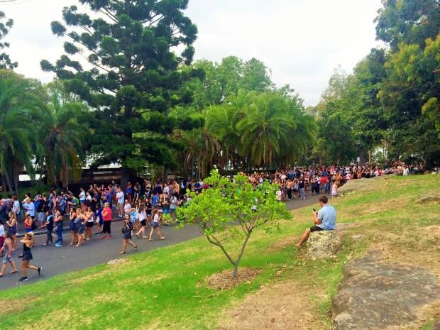 Onde não passar o Ano Novo em Sydney: filas gigantescas