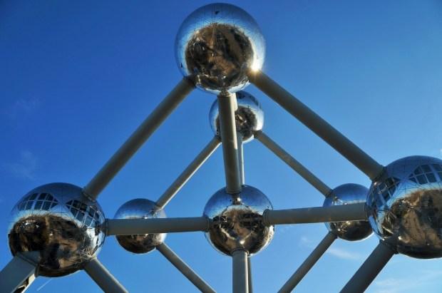 visitando o Atomium