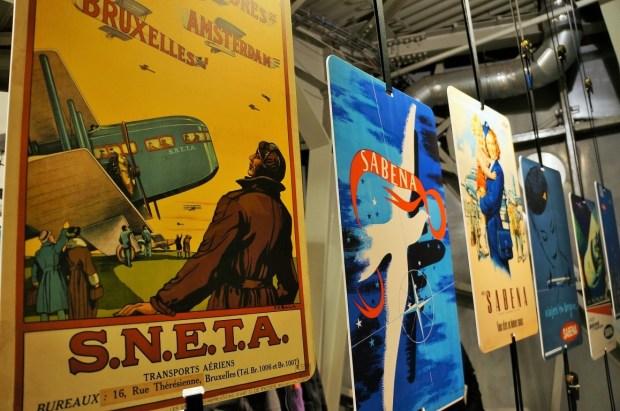 visitando o Atomium - exposição temporária