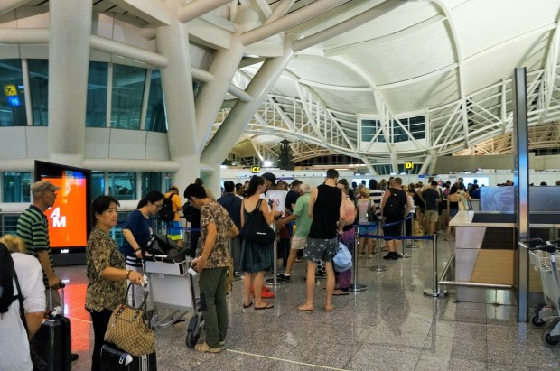 Aeroporto Internacional de Bali - segundo controle