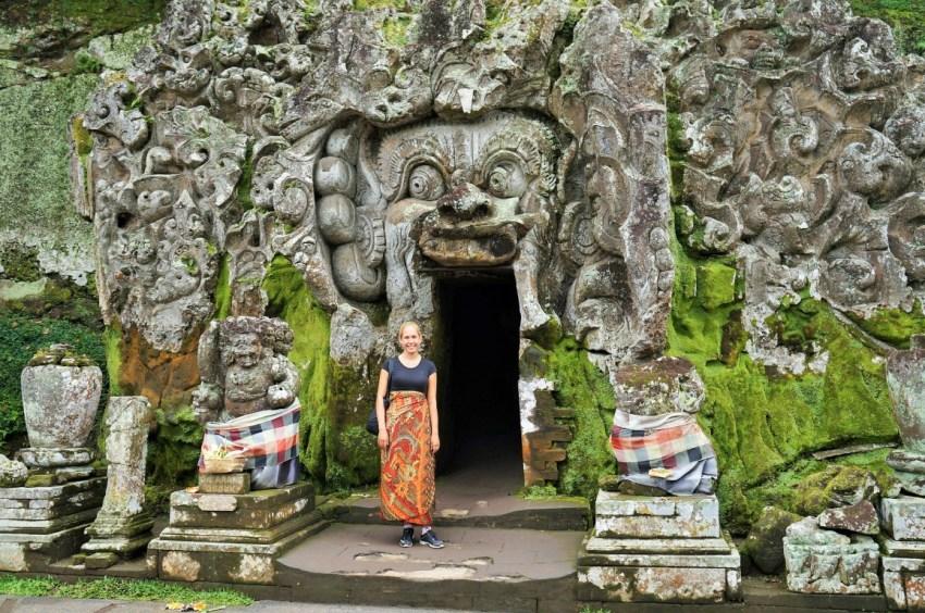 Coisas para fazer em Ubud - Templo Goa Gajah