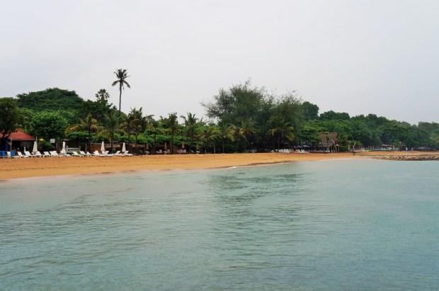 O que fazer em Sanur - Praia de Sanur
