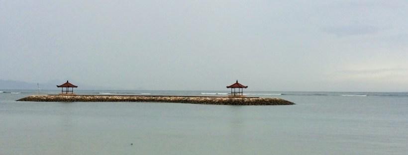 O que fazer em Sanur - outra parte da praia de Sanur