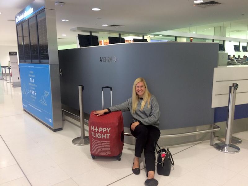 Blogueira de viagem Giulia Sampogna pronta para mais uma aventura