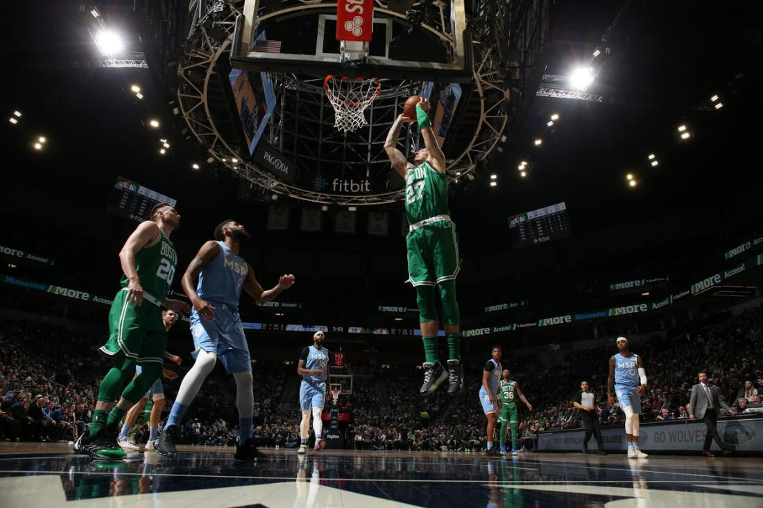 Boston Celtics v Minnesota Timberwolves