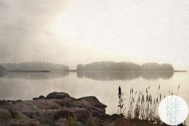 Misty Morning V - Arabianranta, Helsinki, 2014