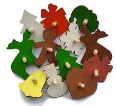 lil_house детские игровые домики формы рождественские
