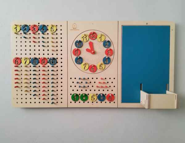 LiL House activity board