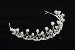 булчинска корона с перли