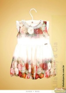 Vestido Infantil de festa Diforini