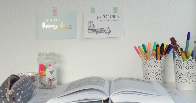 HOW TO: der perfekte Arbeitsplatz //planning