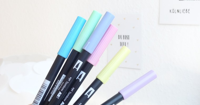 REVIEW: Tombow ABT Dual Brush Pens //planning