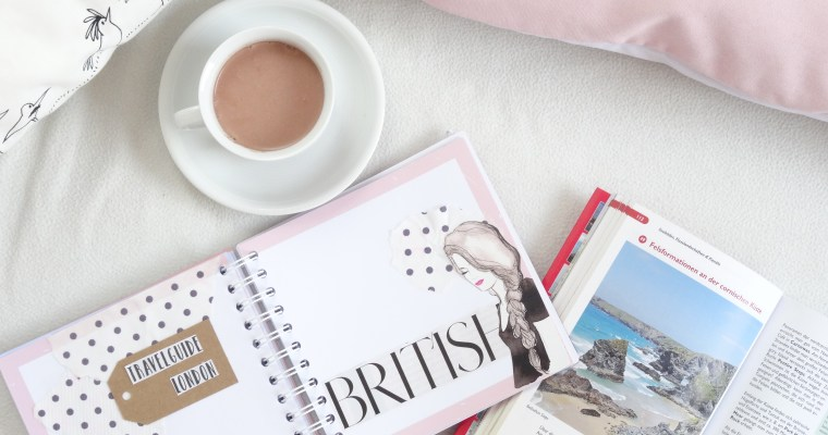 TRAVEL PLANNING: England 2018 #1: Vision Board //travel