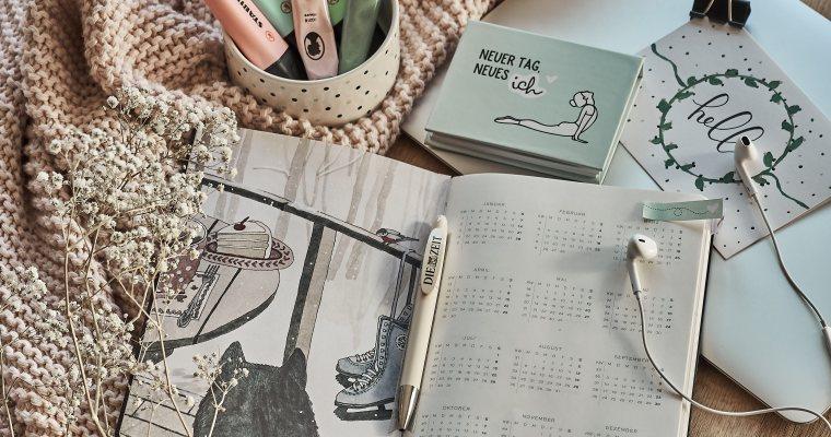 PLANNING: Mein Kalender für 2019 – Farbsystem, Seitengestaltung uvm.