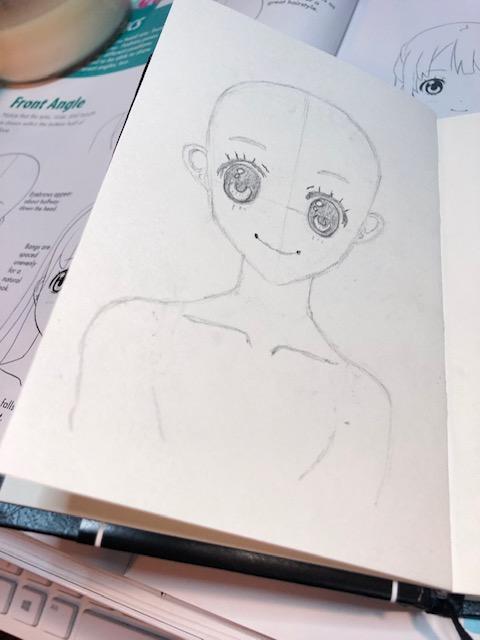 Practicing Manga