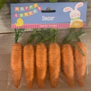 Jute Carrots