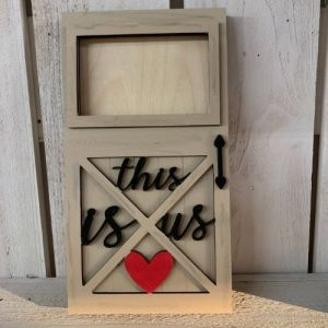 This is us Barn Door Frame