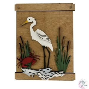 Egret by the Water by Lilac Lane DIY