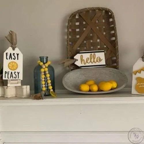 Easy Peasy Lemon Tags