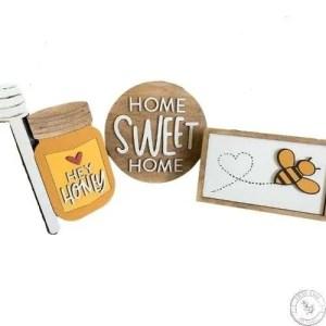 Honey Bee Home Sweet Home Trio Set