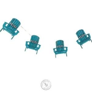 Beach Chair Relax Garland
