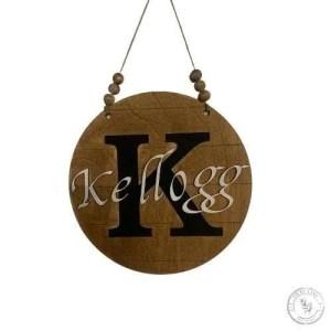 Monogram Initial Door Hanger