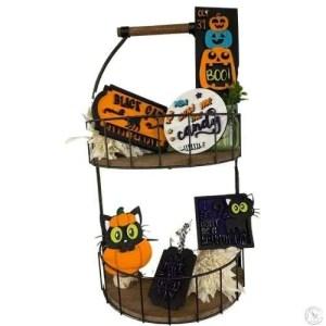 Halloween tiered Tray Set