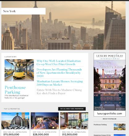 Property Featured on Mansion Global