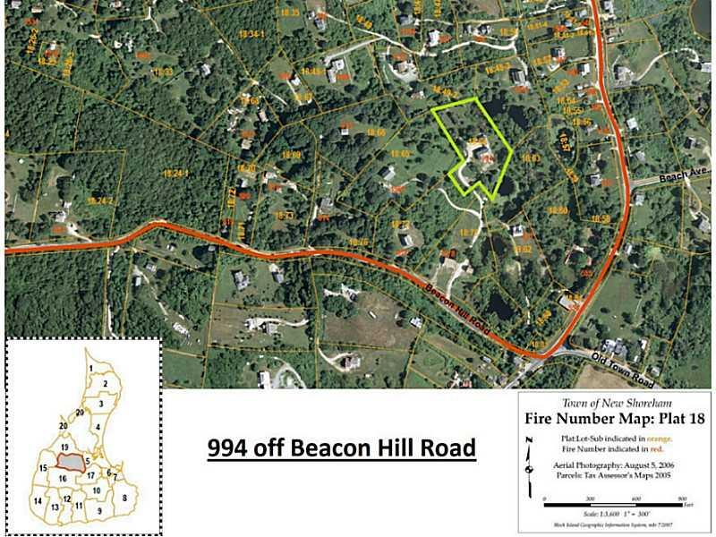 994 Beacon Hill Road, Block Island