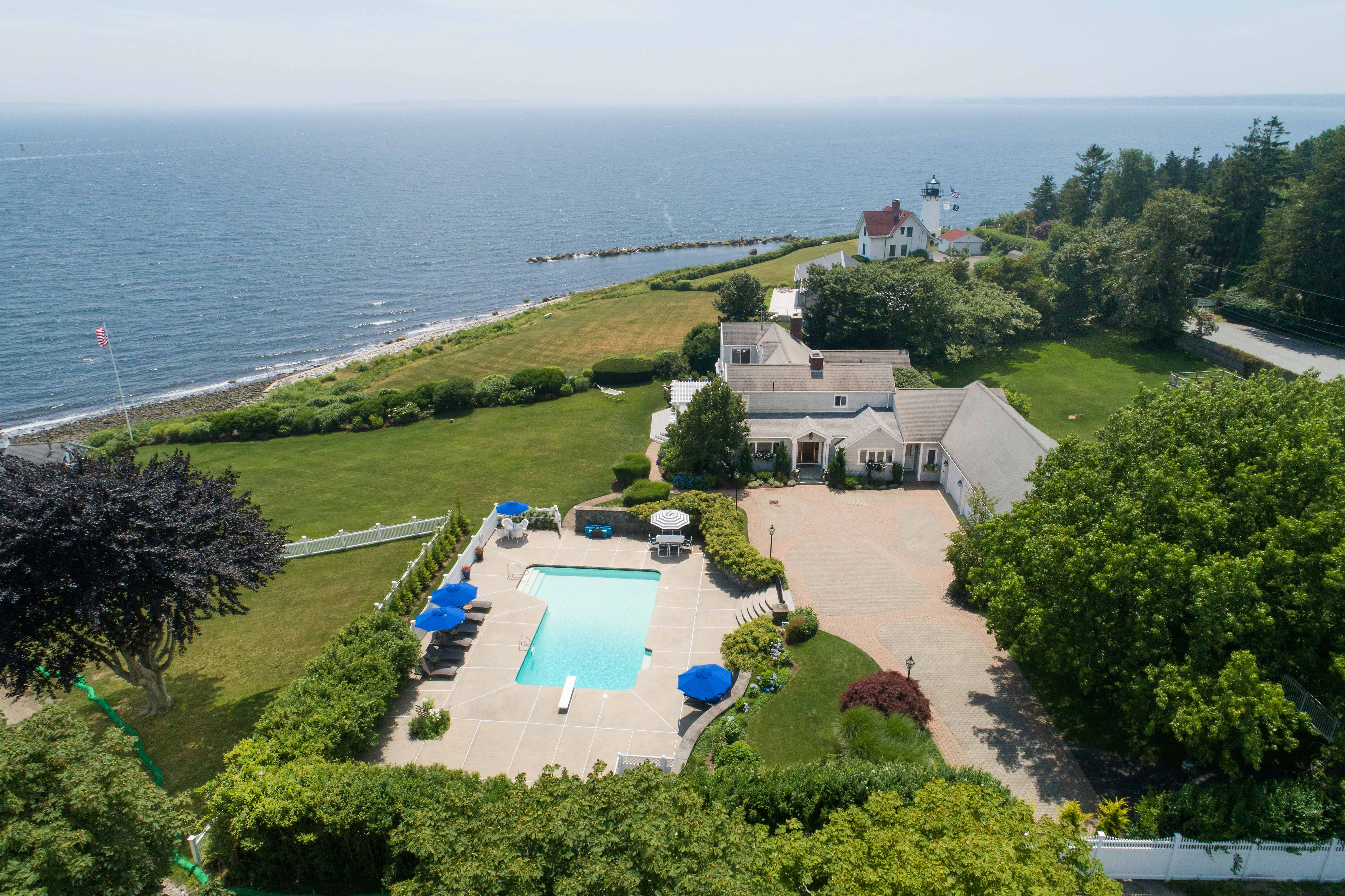 WARWICK NECK WATERFRONT ESTATE SELLS FOR $2.256M,  MARKING HIGHEST SALE IN WARWICK SINCE 2010*