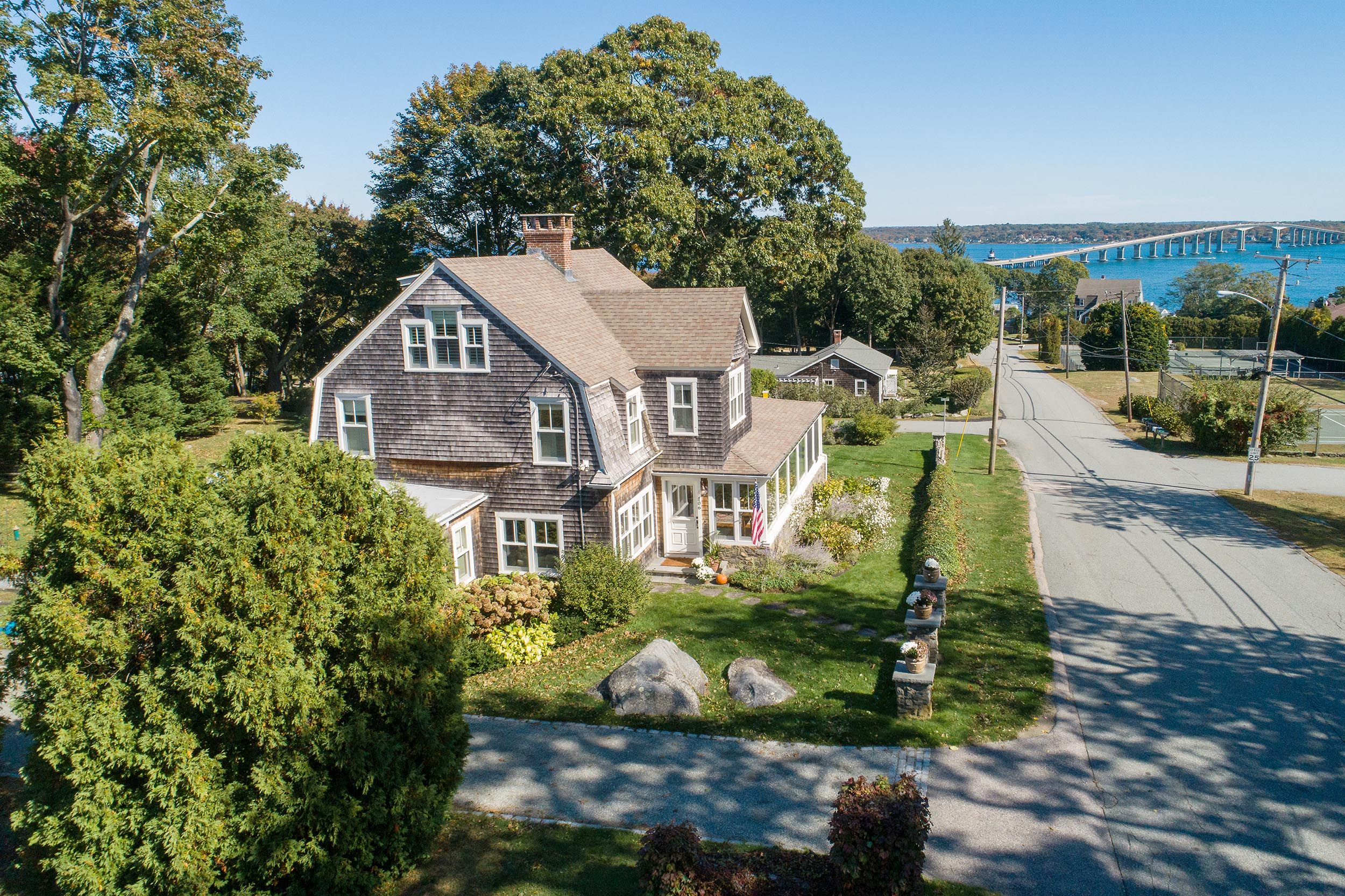 LILA DELMAN ASSOCIATES REPRESENT BOTH SELLER AND BUYER  OF PLUM BEACH SHINGLE-STYLE HOME FOR $1.180M