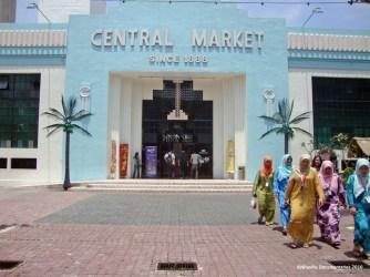 Central Market. Another great place to shop when in Kuala Lampur, Malaysia. This place is just screaming culture! A true bohemian paradise.