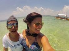 With my gal, Melissa Sambajon, travel extraordinaire.