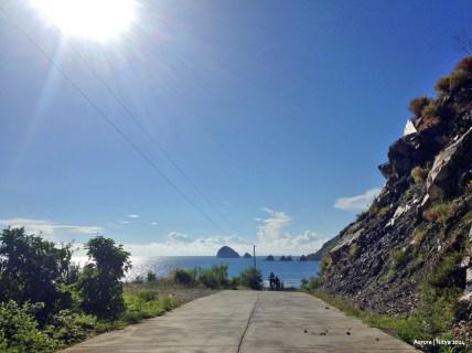 Nearing the climb to Dicasalarin Cove.