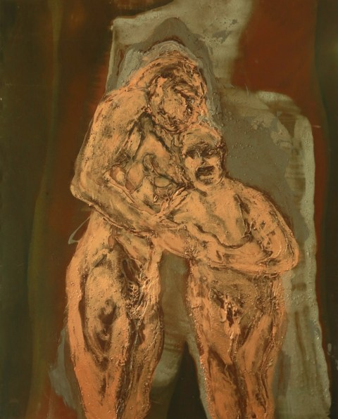 Figures In Copper
