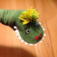 Die Geschichte vom kleinen grünen Monster - oder - Ich war eine Tennissocke